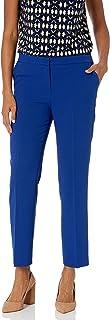 Kasper 女式弹力绉纱弹性后裤