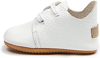 Ella Bonna 牛津男鞋,橡胶软底,皮革婴儿鞋,学步女孩婴儿散步鞋,新生儿迷你儿童婴儿床婴儿软帮鞋