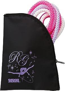 樱花(SASAKI) 新体操 R.G.女孩 绳包 黑色×紫红色 AC-54