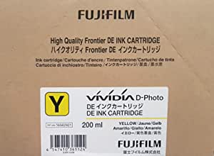 Fujifilm 富士 DE 墨水盒 200 毫升 黄色品牌 Fujifilm