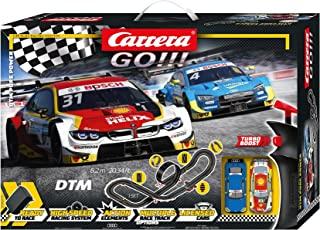 Carrera Go 20062533UK 'DTM Pure Power' 插槽赛车赛道套装(英国插头),多色