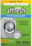 Affresh W10501250 洗衣机清洁剂,6片:适用于前装式和顶装式洗衣机,包括HE