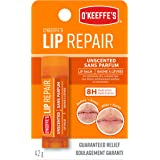 O'Keeffe's Unscented Lip Repair Lip Balm for Dry, Cracked Li…