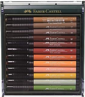 Faber-Castell 辉柏嘉 12 色套装 Pitt Artist 彩笔 B erdfarben