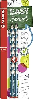 三角铅笔 - STABILO EASYgraph - 硬度 B - 2 件装 Für Rechtshänder 深绿