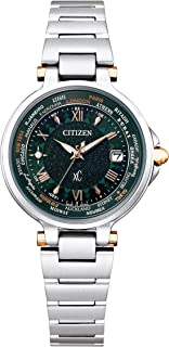 [Citizen 西铁城] 手表 xC Basic Collection 基础系列 限量款情侣表 限量1900块 EC1010-57Y 女款 银色