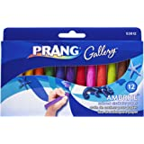 Prang Ambrite Colored Chalk for Paper, Tapered, 3.188 x 0.43…