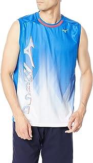 Mizuno 美津浓 网球服 训练衫 无袖 吸汗速干 62JA1525