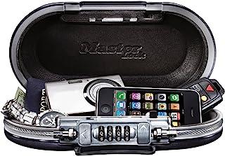Master Lock 5900D 套装您自己的组合便携式保险箱,9-17/32 英寸(约 24.1 厘米)宽,青铜灰色