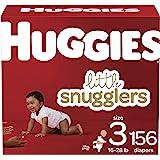 婴儿纸尿裤尺寸 3,156 克拉,Huggies Little Snugglers