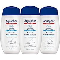 Aquaphor 婴儿沐浴乳 & 洗发水 8.4 fl oz 25.2