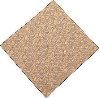 Syusai 修房 古帛纱 米色 尺寸:长15.6x宽15x厚0.2cm 真丝 雪月花