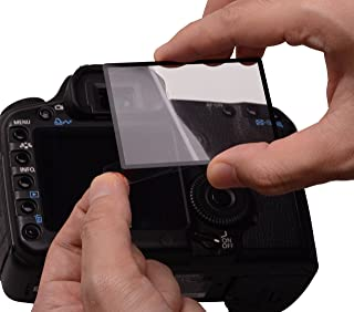 Rollei Profi 屏幕保护膜,适用于 Canon 佳能 7D (触摸屏,旋转屏幕,防刮/防碎/防震)