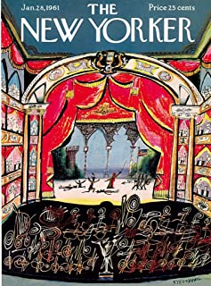 New York Puzzle Company - New Yorker Opera House - 1000 Piece Jigsaw Puzzle