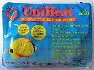 Uniheat 配送加热器 20 小时以上 12 包 >加大!< 1 - 10 英寸 x 18 英寸运输袋,20 小时以上保暖,适合配送活珊瑚、小型宠物、鱼、昆虫、爬行动物等。