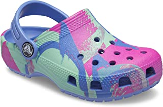 crocs 卡骆驰 中性儿童经典渐变木洞鞋