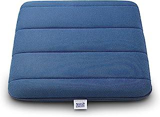 Aveve 靠垫 藏青色 4-257011-NY-1 宽约39×长约39×厚约5厘米 高回弹 透气 不易闷热 居家工作 分散身体压力