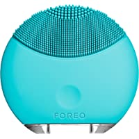 FOREO LUNA 迷你硅胶面部清洁刷,旅行便利型清洁品和USB充电式声波清洁系统