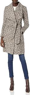 Cole Haan 女士光滑羊毛裹身外套