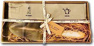 Rae Dunn 园艺礼品套装铲子和围裙植物和种植