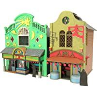 Sankei 迷你纸模型 吉卜力工作室系列 千与千寻 不可思议的城镇-1 1/150比例 纸制工艺品 MK07-04