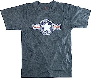Rothco 复古*航空公司蓝色 T 恤