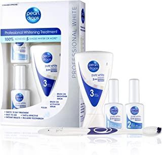 Pearl Drops - 纯白色套装 - 专家 3 步*护理 - 易于使用 - 即时效果