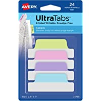 Avery margin ULTRA tabS ,21.59 X 27.94 cm ,24 repositionable…