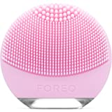 FOREO LUNA go 露娜妙趣版净透舒缓洁面仪,可以阻止晒老,便携式个性化面部清洁刷,适用于普通皮肤