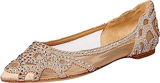 Badgley Mischka 女士 Gigi 尖头平底鞋