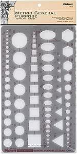 Pickett 等轴测六角螺母和头模板 7 Metric General Purpose 棕色