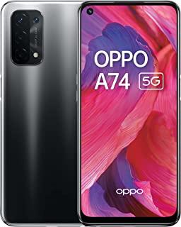 A74 5G - 6GB RAM 和 128GB + 可扩展存储 SIM 免费智能手机(6.5 英寸屏幕,5000 mAh 电池,48MP 四摄像头,90Hz 刷新率) - 流体黑色
