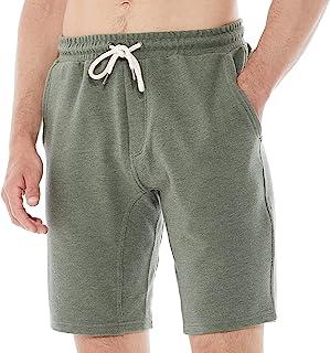 DINOGREY 宽松款男式羊毛针织短裤弹性休闲经典慢跑裤