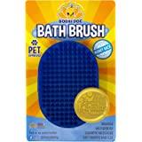 Bodhi Dog 新款*宠物洗发露刷   舒缓按摩橡胶刷毛咖喱梳适用于狗狗和猫清洗   专业品质