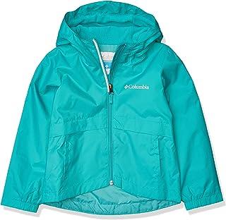 Columbia 女童 Rain-Zilla 夾克,防水,反光