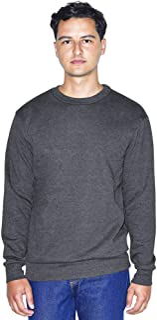 American Apparel 男式弹性羊毛长袖套头衫