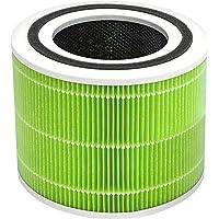 Levoit Core 300 空气净化器替换过滤器,3 合 1 预过滤器,真正 HEPA 过滤器,*活性碳过滤器,核心…