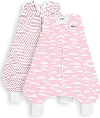 BaeBae Goods 粉色云朵腿睡袋 可穿毯