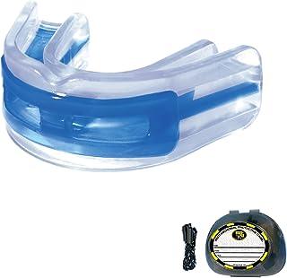 Brain-Pad LoPro+ 双层压带/无肩带青少年护齿套(蓝色/透明)