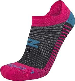 羽毛超轻跑步袜 - 抗泡,超轻,无隐形选项卡,运动袜男女皆宜