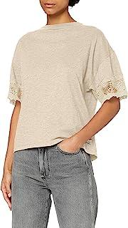 Superdry 极度干燥 女士 Crafted Folk 蕾丝 T 恤