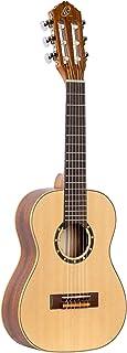Ortega R121古典吉他 丝绸般光滑表面 带优质吉他包 自然色 1/4