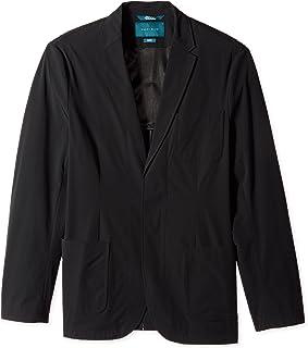 Perry Ellis 男式加大加长修身纯色弹力夹克