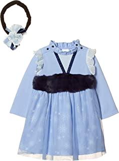 [迪士尼] 万圣节 冰雪奇缘 艾莎 扮演礼服 附发箍 女孩