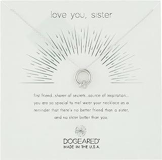 Dogeared Love You,Sister,在一起结链项链,40.64 cm+5.08 cm 延长链