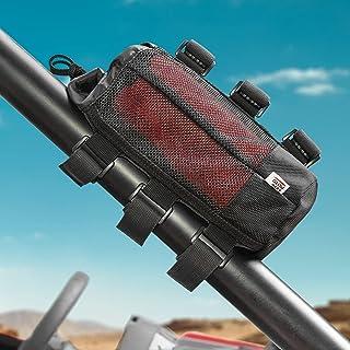 Kemimoto 扬声器支架适用于 UTV 高尔夫球车自行车,兼容 1.5-2 英寸(约 3.8-5.1 厘米)滚杆,可调节蓝牙扬声器附件支架