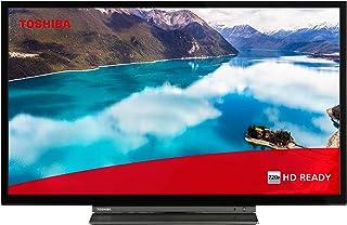 Toshiba 东芝 24WL3C63DAX 24 英寸电视机(HD ready,智能电视包括Prime Video / Netflix,蓝牙,WLAN,三调谐器,Works with Alexa)
