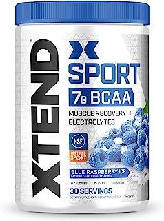 XTEND Sport 支链氨基酸粉 蓝莓冰 - 电解质粉末 - 30份