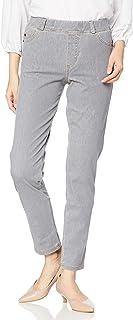 [Cecile] 裤子 紧身裤 针织牛仔布 智能针织牛仔裤 可选长度 吸汗速干 可机洗 美腿裤 女士 MP-2021