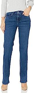 NYDJ 女士 marilyn 直筒牛仔裤